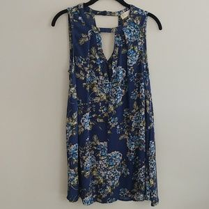 Altar'd State Sleeveless Shirt Top Floral Size S